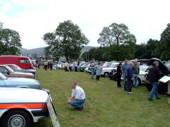 Vintage Car Rally scotland